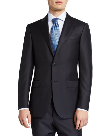 Image 1 of 4: Ermenegildo Zegna Men's Trofeo Milano Two-Piece Wool Suit