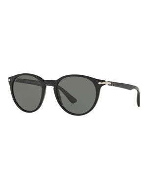286ab24869ce0 Persol Men s Round Acetate Sunglasses