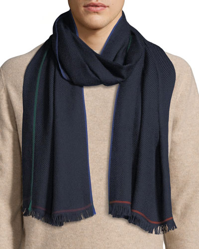 Men's Winter Four-In-Hand Cashmere Scarf