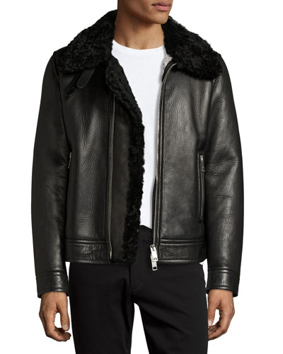 Burberry Men's Jackets & Trench Coats at Neiman Marcus
