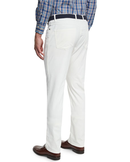 Alpine Five-Pocket Twill Pants