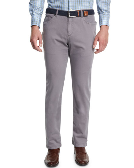 Peter Millar Alpine Five-Pocket Twill Pants
