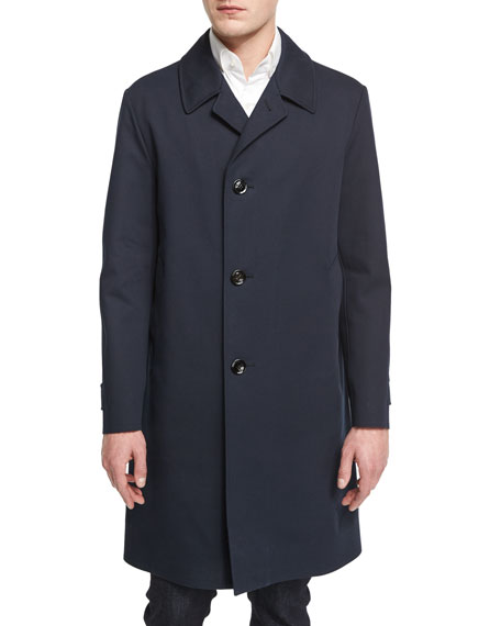 TOM FORD Cotton Trenchcoat, Navy