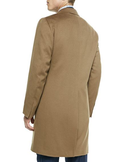 Aquaspider Single-Breasted Overcoat