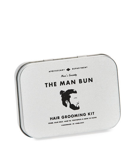 The Man Bun Hair Kit