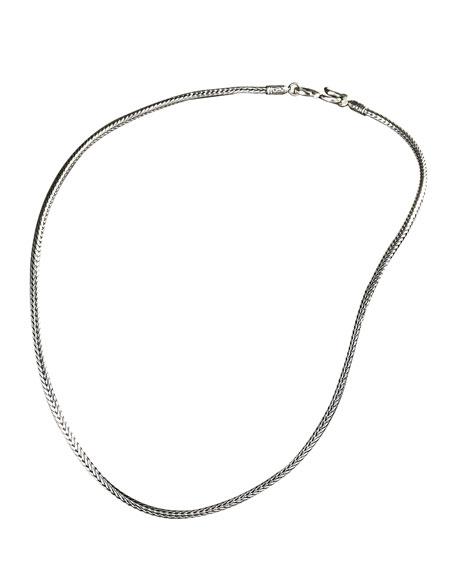 "Woven Necklace, 20""L"
