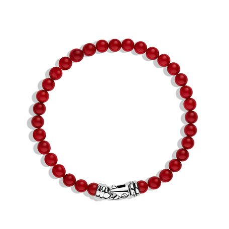 Spiritual Beads Bracelet with Coral