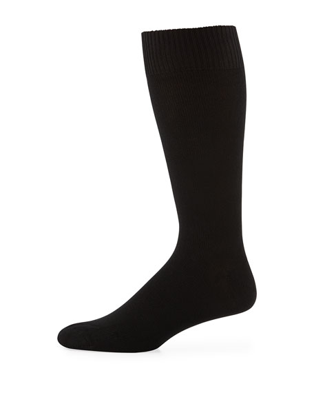 Neiman Marcus Luxe Ankle Socks