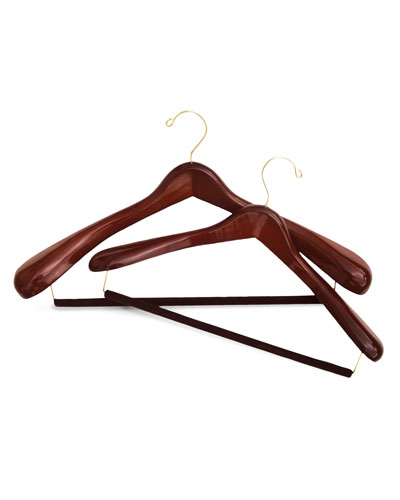 Luxury Wooden Suit Hanger, Large