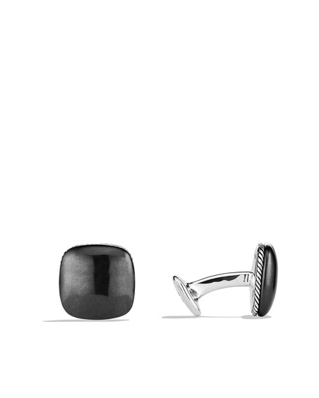 Streamline Cuff Links with Hematine