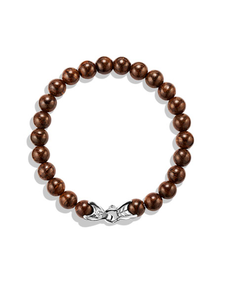 Spiritual Beads Bracelet with Bronzite