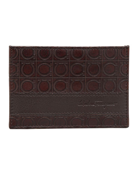 Gamma Card Case, Brown