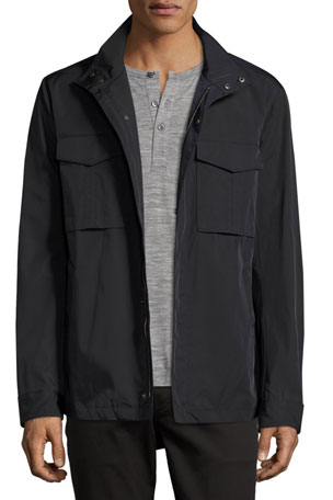 Theory Yost Stand Collar Jacket
