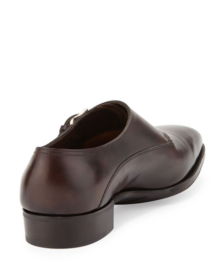 Chapel Double Monk-Strap Shoe