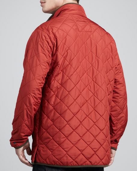 Chesapeake Quilted Jacket, Navy
