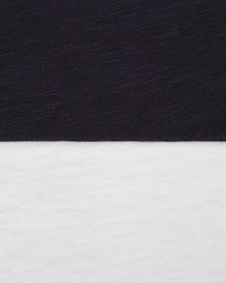 Flame Jersey Polo, White