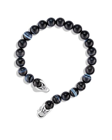 Spiritual Beads Bracelet with Tuxedo Agate