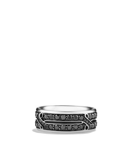 Armory Crossover Band Ring
