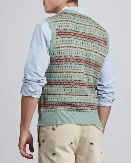 Fair Isle Sweater Vest