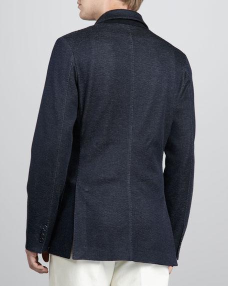 Melange Sweater Jacket