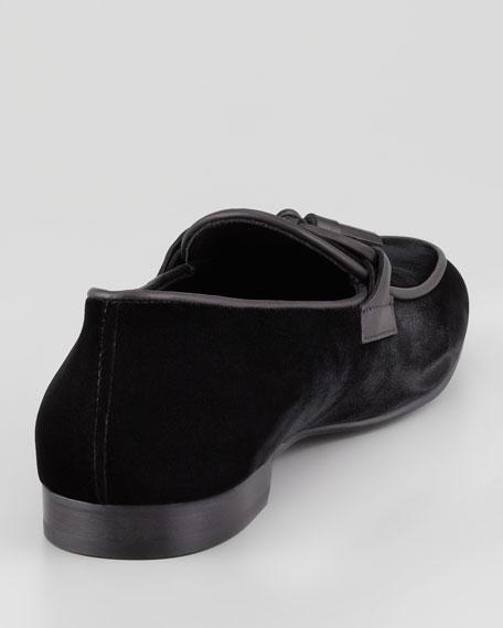 Orson Velvet Tassel Loafer
