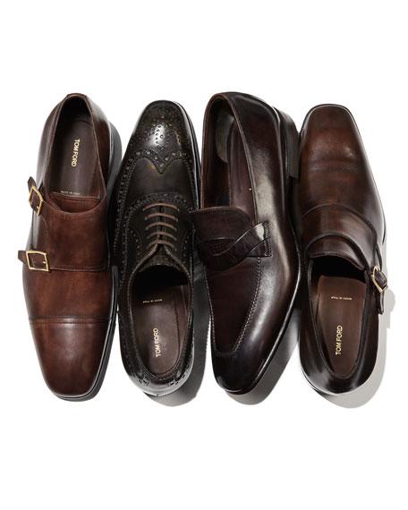 Adney Twist Loafer, Black