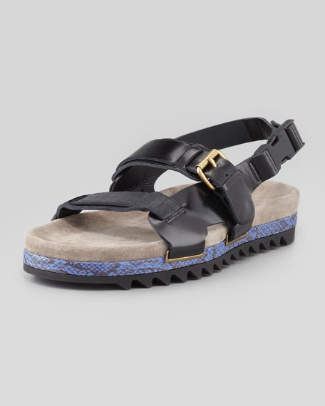 Men's Snake-Sole Sandal