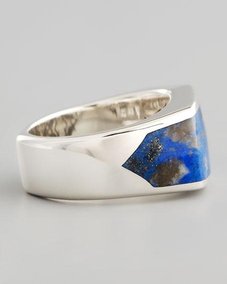 Lapis Inlay Ring