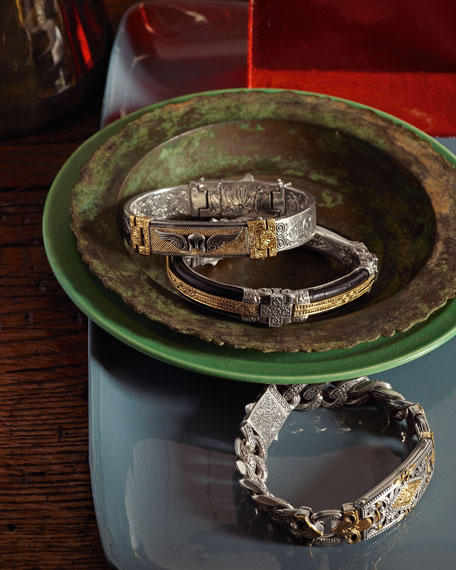 Myrmidones Men's Helmet Cuff Bracelet
