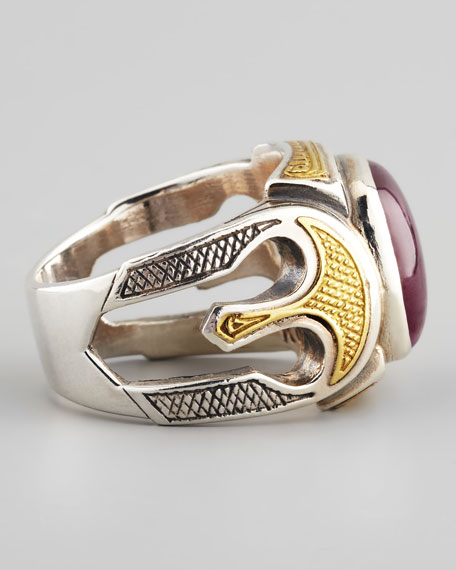 Men's Ruby Root Ring