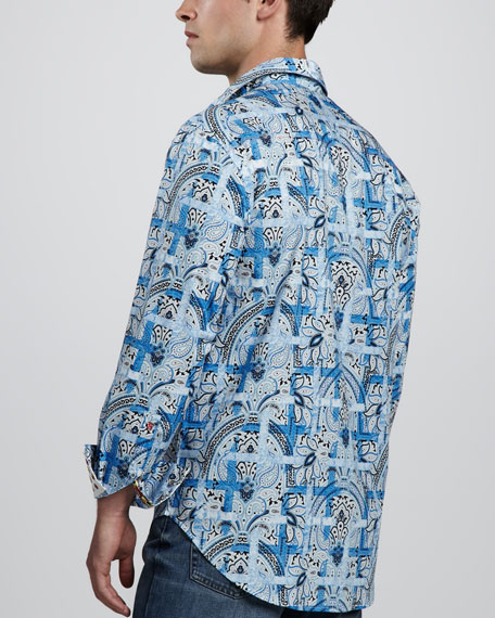 Multi Scarp Long-Sleeve Shirt