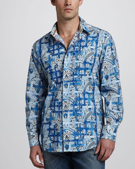 Multi Scarp Long-Sleeve Shirt