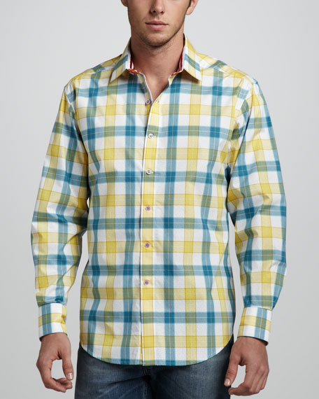 Wipeout Long-Sleeve Sport Shirt
