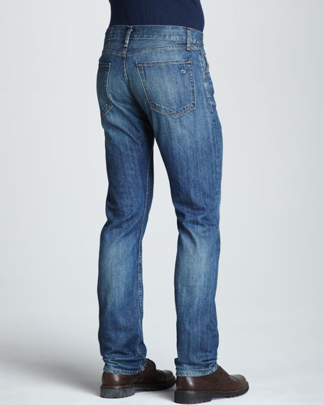 Dumont Wash Straight-Leg Jeans