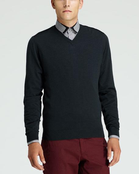 Merino Wool Sweater, Green