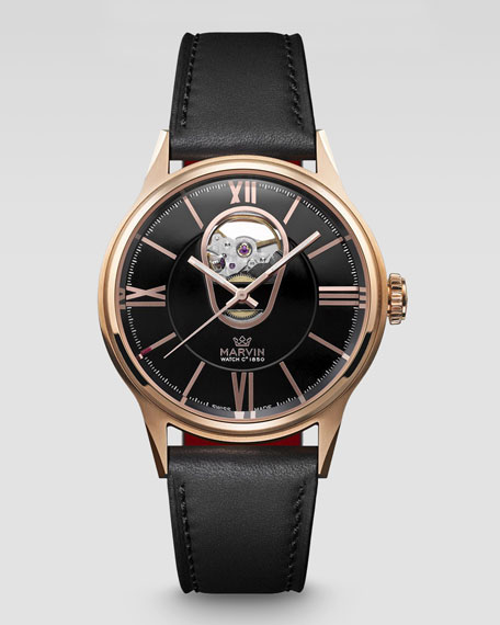 DN8 Automatic Rose Gold Plated Watch