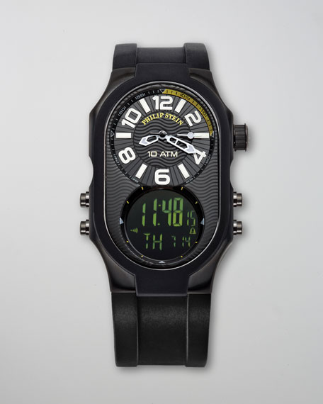 Men's Analog/Digital Watch, Black