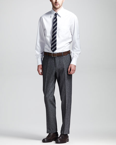 Donegal Two-Piece Suit, Gray