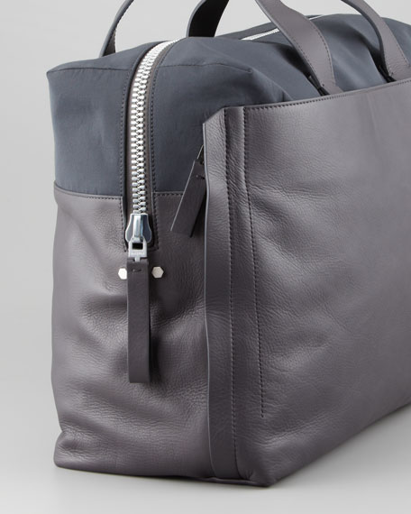 Two-Tone Carry-On Bag, Anthracite