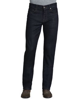 7 For All Mankind Carsen Dark & Clean Jeans, Indigo