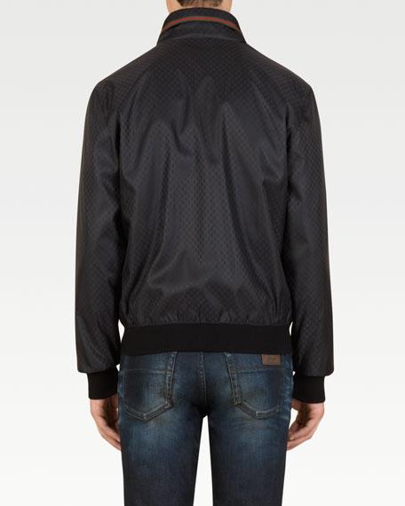 Mini GG Nylon Jacket, Black