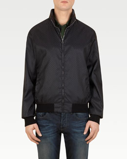 Gucci Mini GG Nylon Jacket, Black