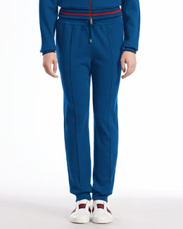 Gucci Felted Toweling Pants, Tide