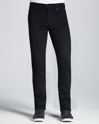 7 For All Mankind Slimmy Blackout Jeans