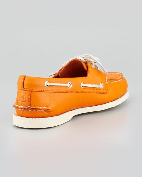 Authentic Original Boat Shoe, Orange