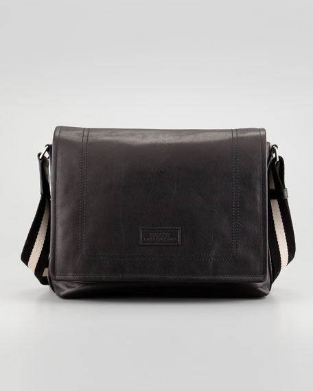 Tepolt Men's Messenger Bag, Black