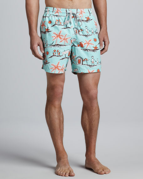 Father & Son Moorea Swim Trunks