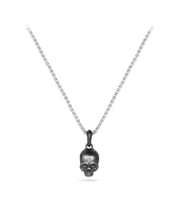David Yurman Waves Skull Amulet