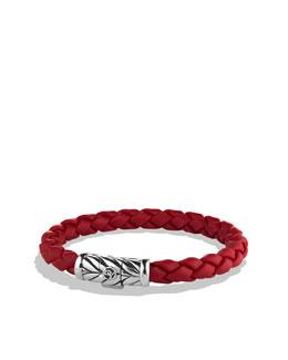 David Yurman Chevron Bracelet in Red