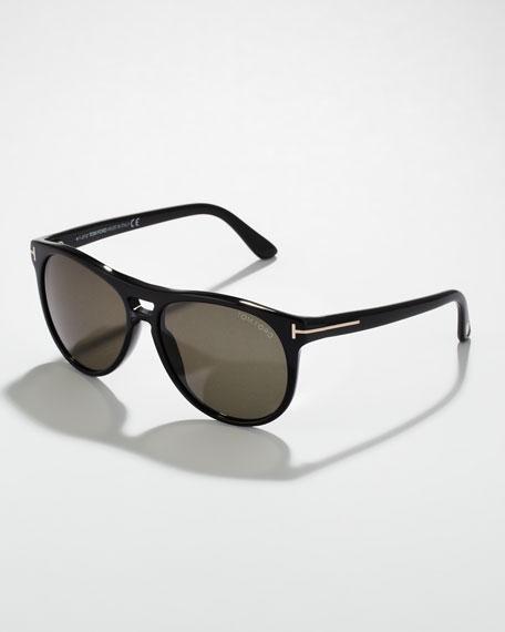 Callum Acetate Square Sunglasses